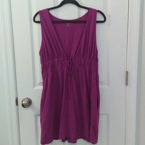 Land's End Fushia Coverup Dress